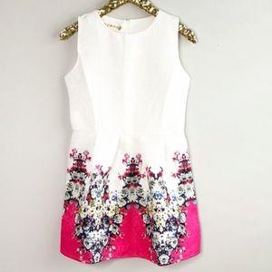 NWOT [CRFS] floral print fit and flare dress #V07
